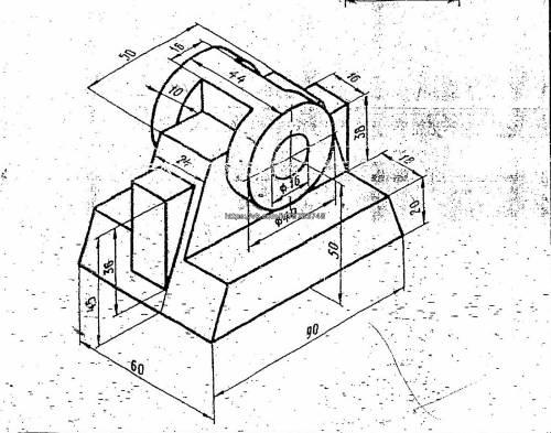 Компас как из 3д модели сделать чертеж в компасе
